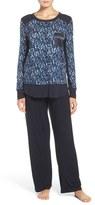 Midnight by Carole Hochman Knit Pajamas