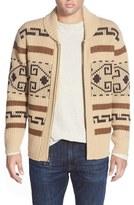 Pendleton 'Original Westerly' Shawl Collar Zip Sweater