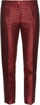 Etro Jacquard capri trousers