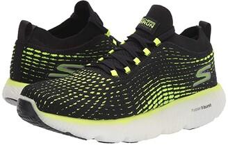 Skechers Max Road 4 (Black/Lime) Men's Shoes