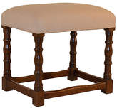 One Kings Lane Vintage 19th-C. English Oak Turned Stool