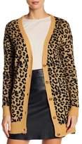 Abound Leopard Knit Cardigan