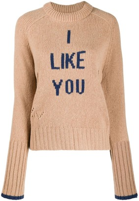 Zadig & Voltaire I Like You merino knit jumper