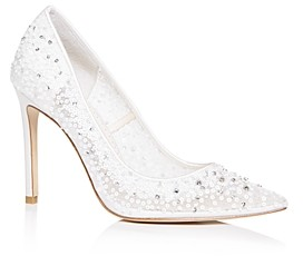 Bella Belle Women's Elsa Embellished Pumps