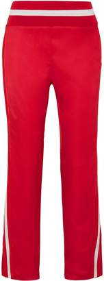 Maggie Marilyn Trailblazer Striped Satin Track Pants