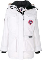Canada Goose Expedition coat - women - Cotton/Feather Down/Nylon/Coyote Fur - M