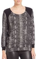 Generation Love Snake-Print Combo Top