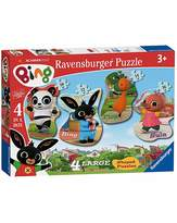 Fashion World Bing Bunny 4 Shaped Jigsaw Puzzles
