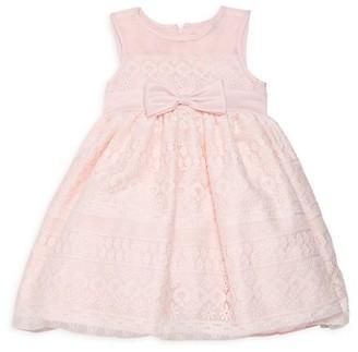 Purple Rose Little Girl's Lace Fit--Flare Dress