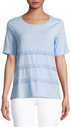 Lord & Taylor Relaxed Drapey Tee