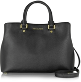 Michael Kors Savannah Large Saffiano Leather Satchel Bag