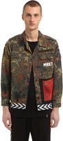 M.r.k.t. Camo Printed Vintage Cotton Field Jacket