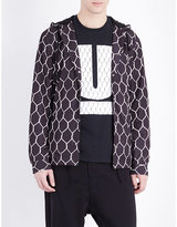 Undercover Fence-print Shell Jacket