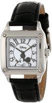 EWatchFactory Disney Women's W000464 Mickey Mouse Perfect Square Watch