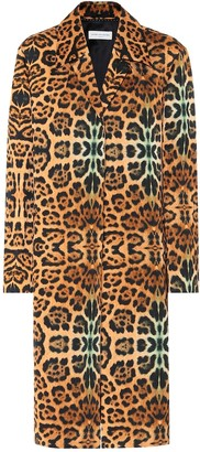 Dries Van Noten Leopard-print coat