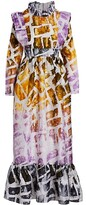 Thumbnail for your product : Busayo Pemi Printed Cotton Maxi Dress