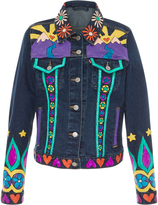 Anna Sui The Heart Hand Painted Denim Jacket