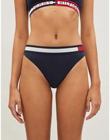 Tommy Hilfiger Branded-waist stretch-jersey Brazilian briefs