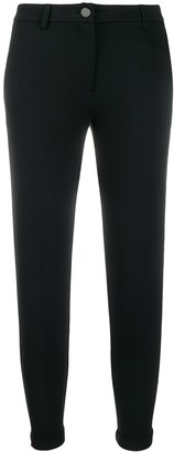 Liu Jo Cropped Low-Rise Trousers
