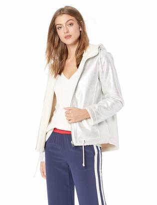 GUESS Women's Long Sleeve Lisa Faux Fur Lined Jacket