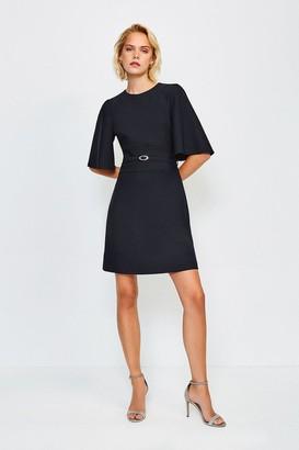 Karen Millen Flare Sleeved A Line Dress