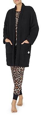 Kate Spade Long Fleece Bed Jacket