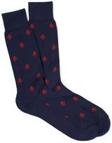 J.Mclaughlin Fleur De Lis Socks