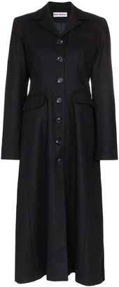 Molly Goddard Karolina single-breasted coat