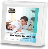 Utopia Bedding Zippered Box Spring Encasement Ample Zipper Opening for Easy Use - Bed Bug & Water Resistant Cover, Ultimate Protection Against Insects, Dust Mites and Allergens (Queen)