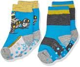 Sterntaler Baby Boys' Abs-Söckchen DP Strandbuggy Socks