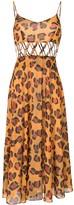 Tata-Naka Leopard Print Dress