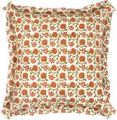 Bunny Williams Home Passion Flower 20x20 Pillow, Red/Multi