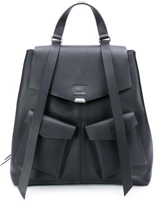 AllSaints Darcy multi-pocket backpack