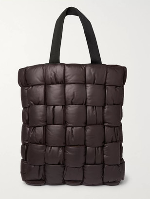 Bottega Veneta Padded Quilted Leather Tote Bag