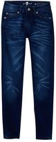 7 For All Mankind Skinny Straight Leg Jean (Little Girls & Big Girls)