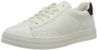 Esprit Sidney Lace up, Women's Low-Top Sneakers, White (100 White), (37 EU)