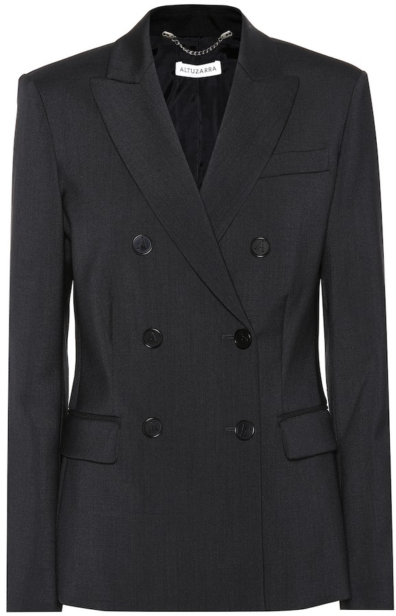 Altuzarra Diana stretch wool blazer