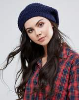 Alice Hannah Textured Beret Hat