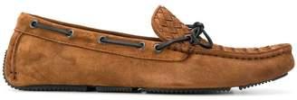 Bottega Veneta classic intrecciato weave loafers