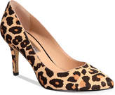 INC International Concepts Zitah Pointed-Toe Leopard Pumps, Created for Macy's Women's Shoes