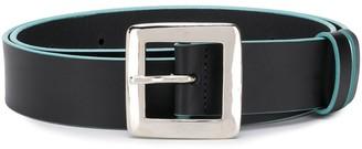 Charles Jeffrey Loverboy Logo Plaque Belt