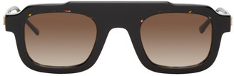 Thierry Lasry Black and Gold Robbery Sunglasses