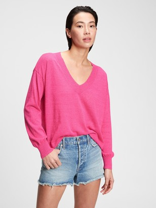 Gap Lightweight V-Neck Sweater