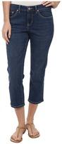 Jag Jeans Mesa Retro Fit Denim Crop in Indigo Aged