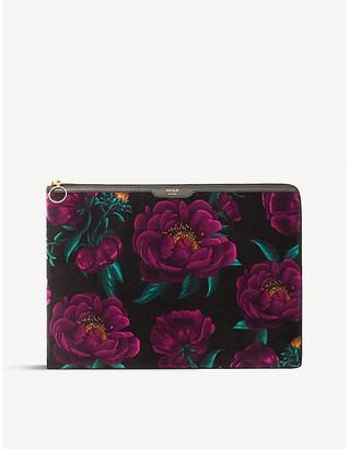 """Wouf Romance canvas laptop case 13"""""""