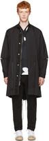 3.1 Phillip Lim Black Fish-tail Coat
