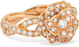Piaget Rose 18-karat Rose Gold Diamond Ring