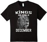 Kids Kings Are Born In December (GK) T-Shirt 8