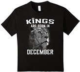 Women's Kings Are Born In December (GK) T-Shirt XL