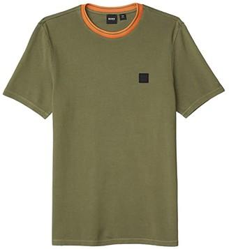 HUGO BOSS Tneo Thick Tee (Open Green) Men's Clothing